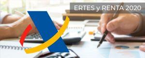 Afectación en la declaración de la renta 2020 de las prestaciones contributivas derivadas de un ERTE