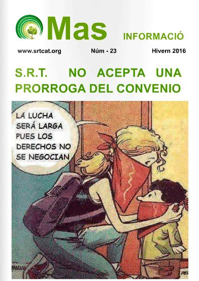 Revista Més Informació del Sindicat Reformista de Treballadors